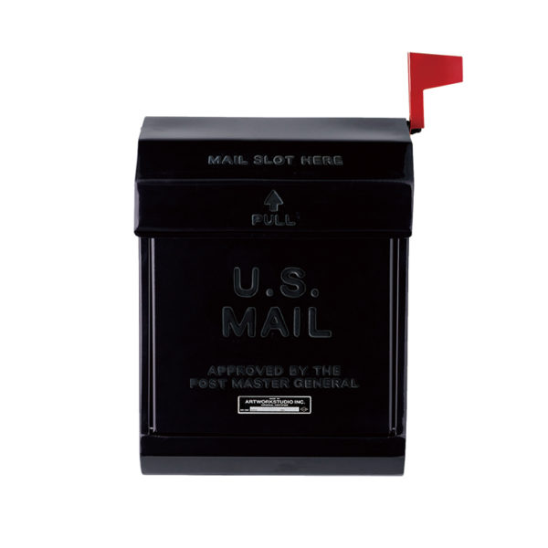ARTWORKSTUDIO U.S.Mail Box2 ブラック