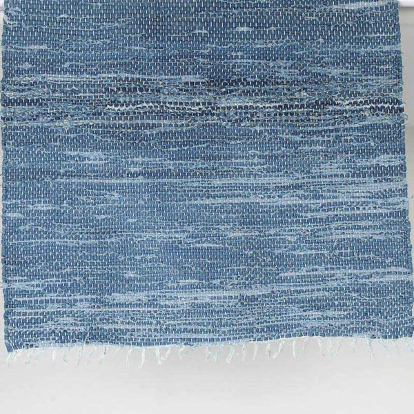 Denim floor rug S